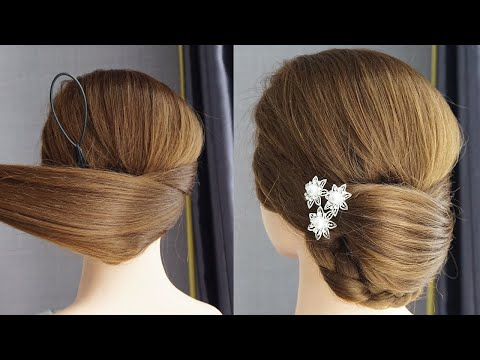 Party Hair Style Girl Simple Party Wear Juda Hairstyle Simple Juda Hairstyle For Wedding