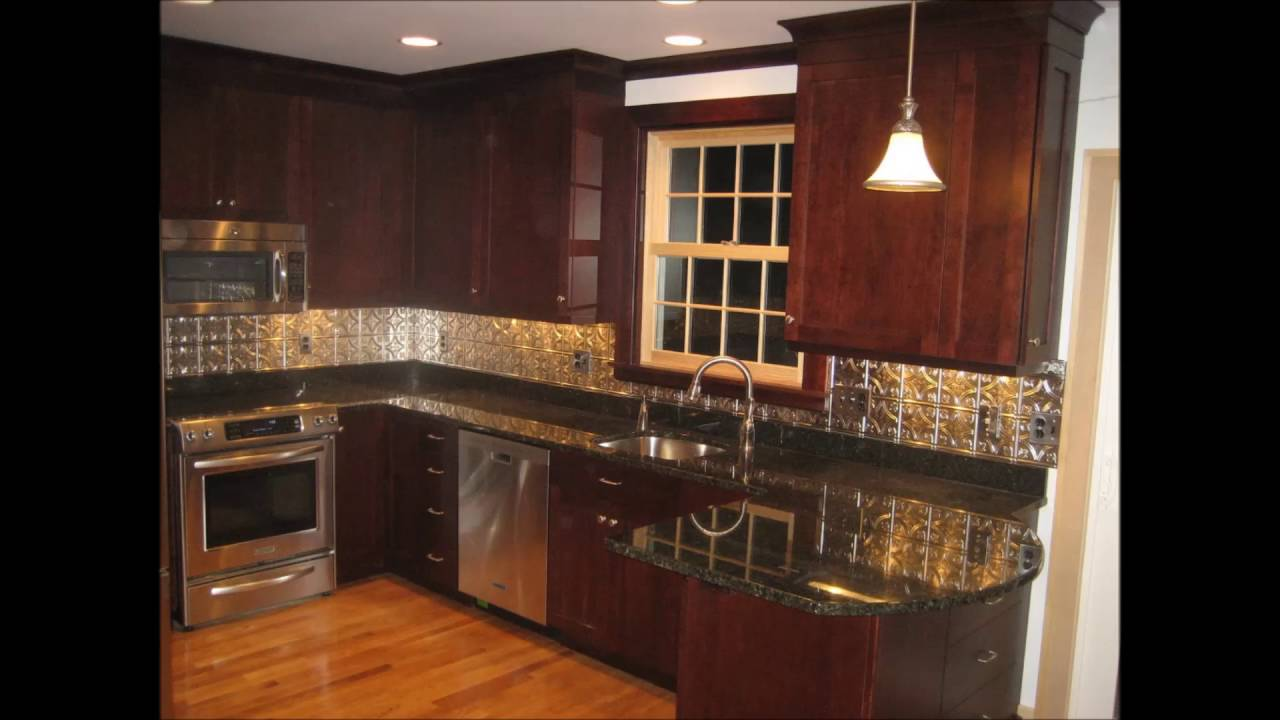 stainless steel backsplash ideas