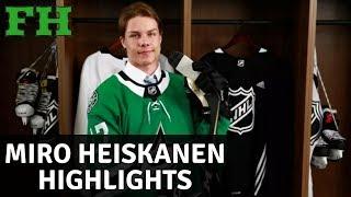 Miro Heiskanen | Highlights | Welcome to Dallas Stars