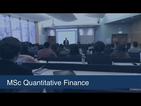 MSc in Quantitative Finance