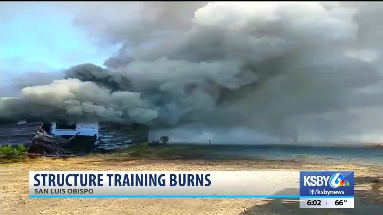 camp-san-luis-obispo-to-conduct-structure-training-burns