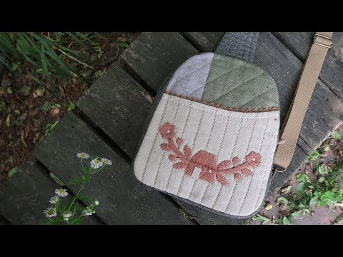 퀼트가방 슬링백 만들기 │ Patchwork Quilted Sling Bag │ How To  Make DIY Crafts Tutorial