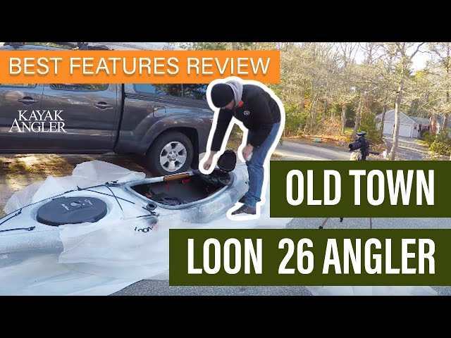 Old Town Loon 126 Angler 🎣 Fishing Kayak 📈 Specs & Features Review and Walk-Around 🏆