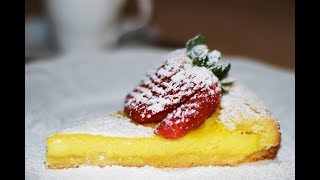 Italian Custard Tart Recipe- How to Cook Real Italian Food from my Italian Kitchen