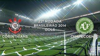 Gols - Corinthians 1 x 1 Chapecoense - Brasileirão 2014 - 18/09/2014