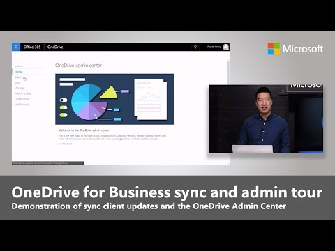 OneDrive sync client updates and the new OneDrive Admin Center