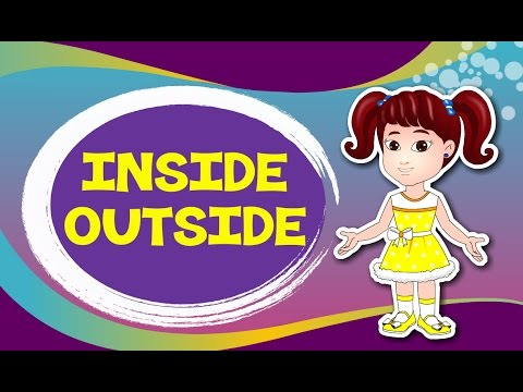 Inside and Outside | Comparison for Kids | Learn Pre-School Concepts with Siya | Part 6
