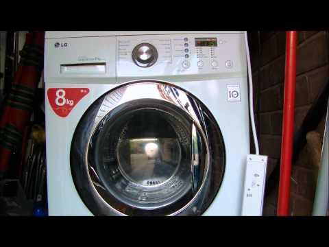 LG F1222TD Direct Drive Washing Machine : Tub Cleaning cycle