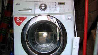 lg f1222td direct drive washing machine tub cleaning cycle