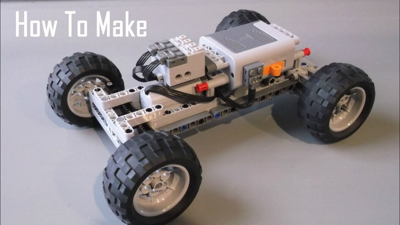 how to make a basic lego technic rc chassis fast youtube. Black Bedroom Furniture Sets. Home Design Ideas