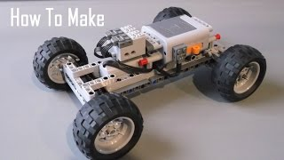 How To Make a Basic Lego Technic RC Chassis - Fast