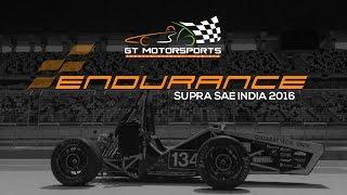 endurance race   supra sae india 2016   gt motorsports