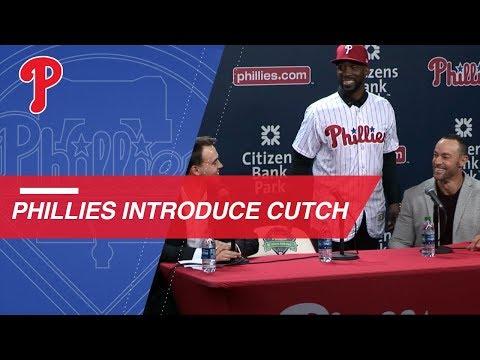 Phillies Introduce Outfielder Andrew McCutchen