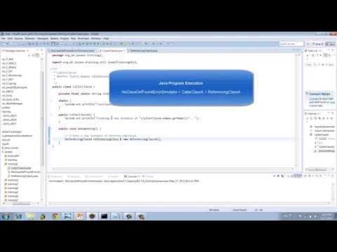 Java.lang.NoClassDefFoundError   Wrong Classpath