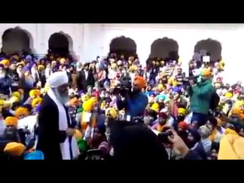 Bhai Panthpreet Singh at Sri Akal Takhat Sahib 01 Jan 2015