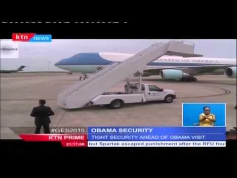 Download Youtube: Kenya prepare for security nightmare during US President Barack Obama's visit to Kenya