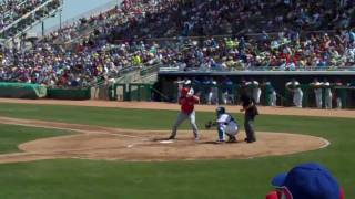2010 Spring Training - Yonder Alonso