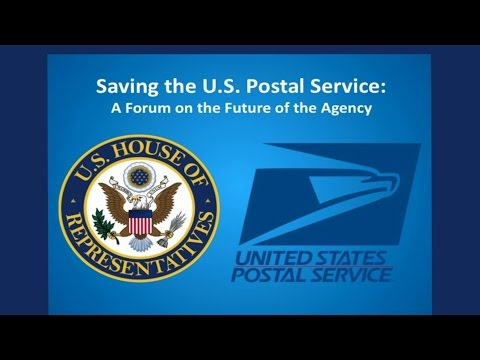 Saving the U.S.  Postal Service -  A Forum on the Future of the Agency