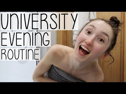 UNIVERSITY EVENING ROUTINE 2018 | HOW TO BE PRODUCTIVE AFTER 5PM FT. WORK, WORKOUTS + FOOD