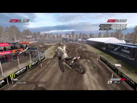 MXGP: The Official Motocross Videogame - Online Race |