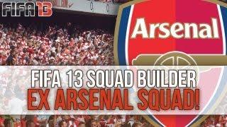 Fifa 13 - Ex Arsenal Squad Builder ft. Henry, Van Persie & Fabregas!
