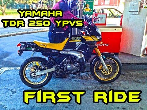 YAMAHA TDR 250 || First ride !