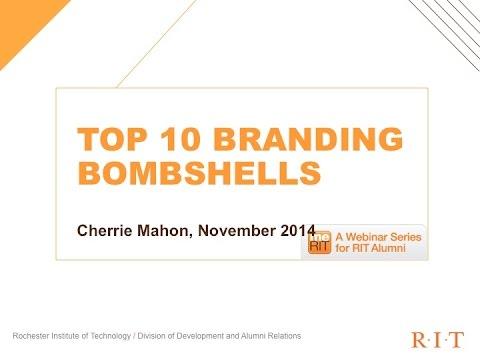 Top 10 Branding Bombshells