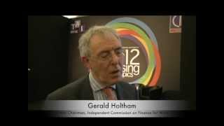 Gerald Holtham speaks to Keith Edwards at TAI 2012