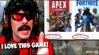 DrDisRespect on Why Apex Legends is The BEST Battle Royale Game!