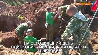 Массовое захоронение времен Великой Отечественной войны обнаружено в Покрове