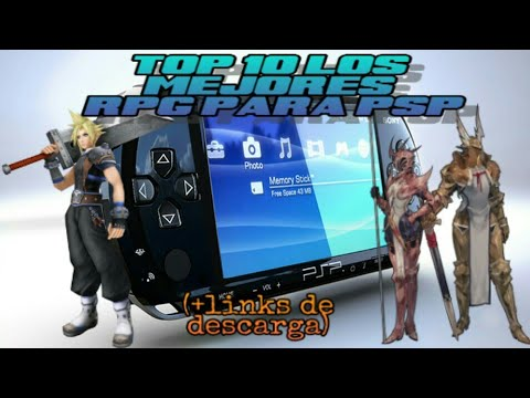 ¡TOP 10 LOS MEJORES RPG PARA PSP!   +LINKS DE DESCARGA