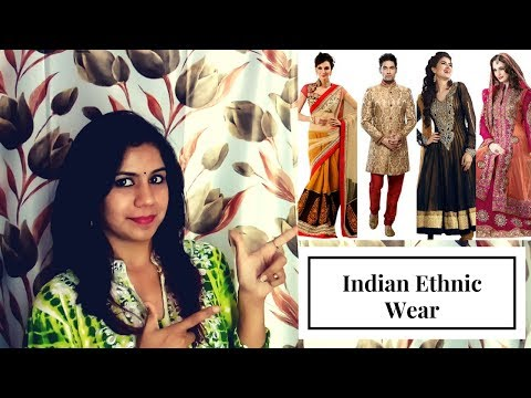 Indian Clothing And Ethnic Wear Pronunciation In Hindi Learn Hindi Youtube