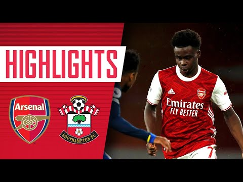 HIGHLIGHTS | Arsenal vs Southampton (1-1) | Aubameyang on the scoresheet | Premier League