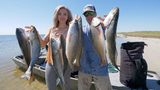 This Jon Boat Produced Our Best Day Fishing EVER! Outer Banks Fishing