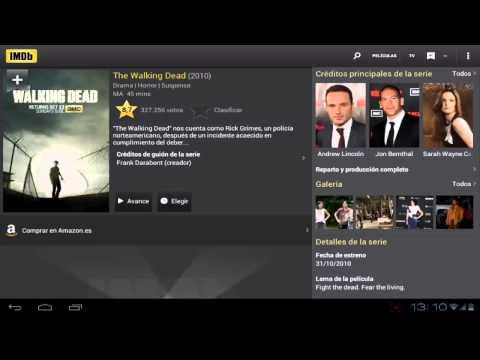 "Imdb Cine & Tv. (ASÍ FUNCIONA HD). ""¿Te gusta el cine?"""