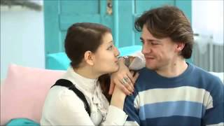 Как научиться целоваться  Поцелуй со школьницей