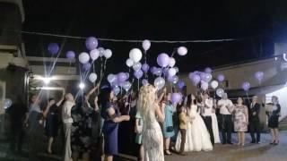Запуск светящих шаров