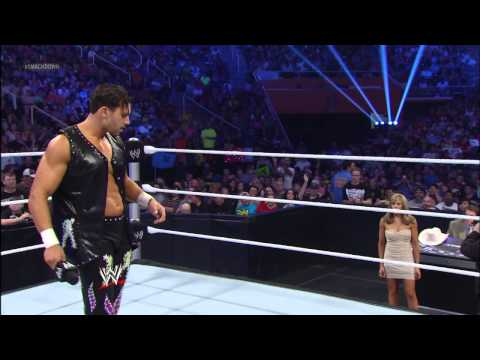 Fandango dances with Lilian Garcia and Santino Marella: SmackDown, April 19, 2013