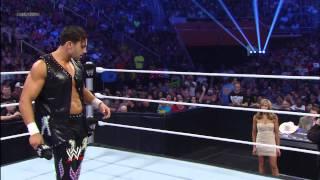 Fandango dances with Lilian Garcia and Santino Marella: SmackDown, April 19, 2013