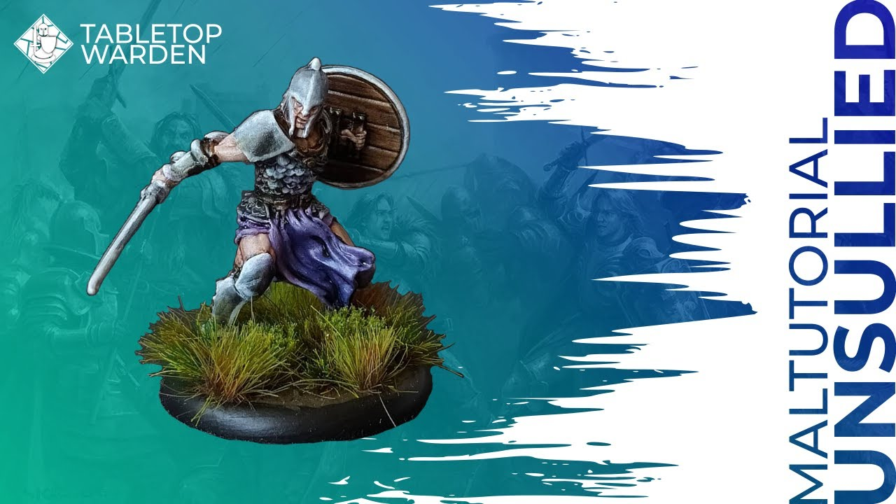 ASOIAF TMG Painting Tutorial 01 - Unsullied Swordsman [Deutsch]