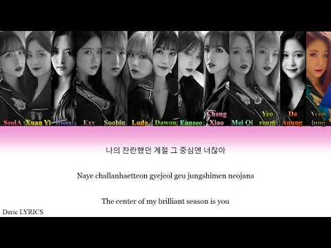 Cosmic Girls (WJSN) - Renaissance (Color Coded Lyrics) [Han/Rom/Eng]