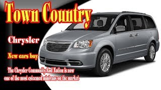 2018 chrysler town and country | 2018 chrysler town and country price | new cars buy.