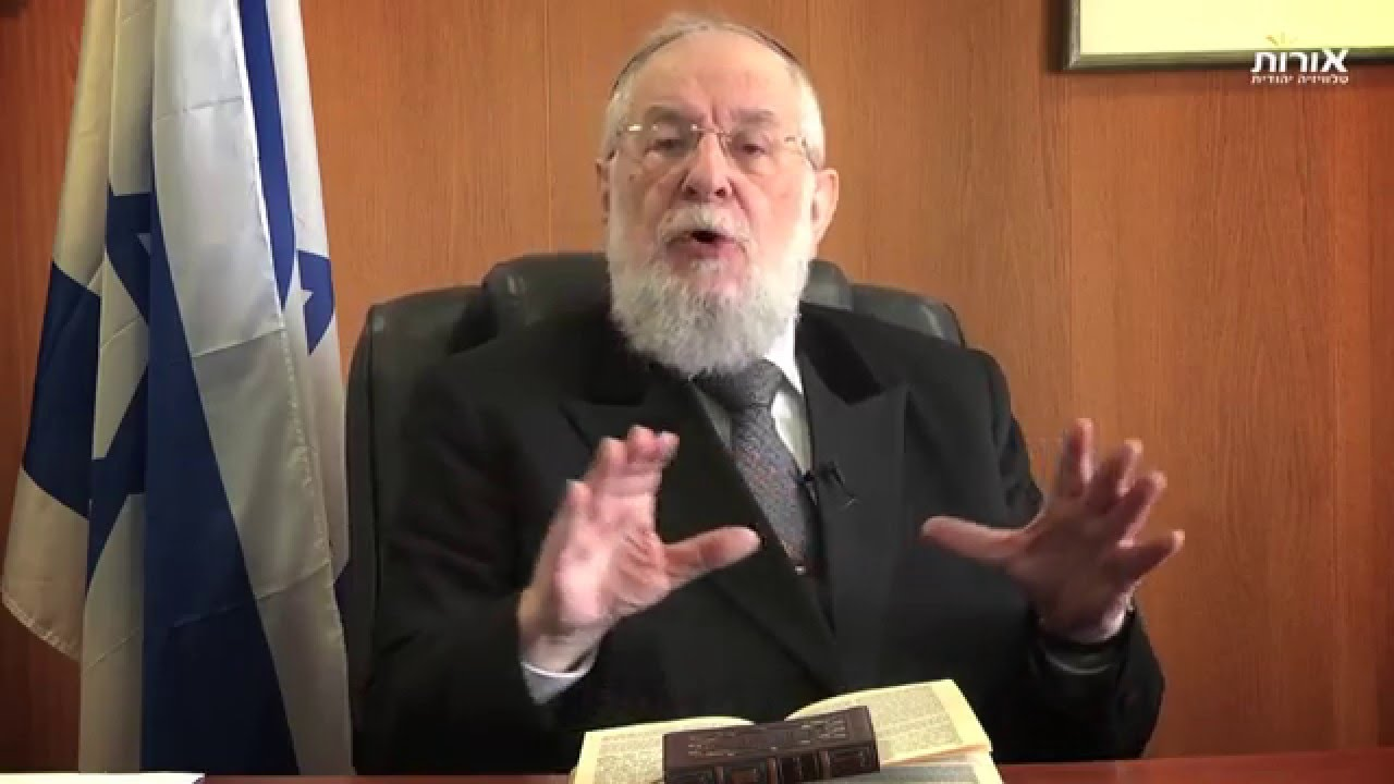 Weekly Torah Portion With Rabbi Lau - Parshat Bo