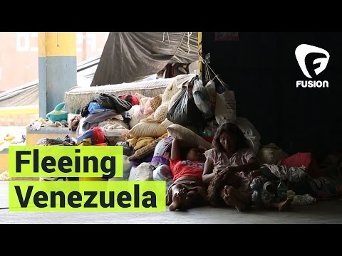 Venezuelans Are Fleeing to Brazil