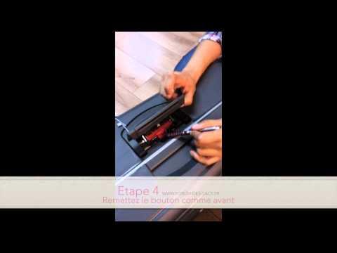 Comment changer le code d'une valise