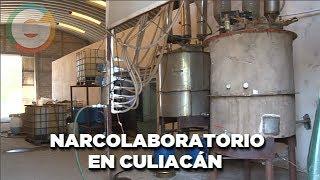 Narcolaboratorio en Culiacán #Sinaloa