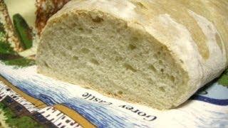 Простой пшеничный батон