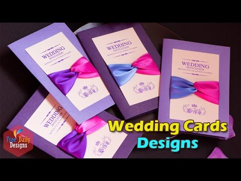 Wedding Cards Designs 2016 Youtube