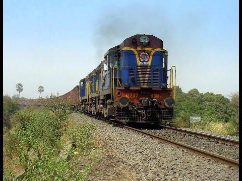 Преимущество поездов в Индии перед другим транспортом :)