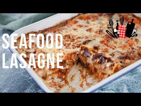 Seafood Lasagna | Everyday Gourmet S9 EP83